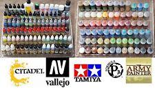 66-96 pots! perspex plastic Paint stand Bottle Rack acrylic Organiser universal