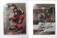 2001-02 BaP Signature Series #128 Saprykin Oleg  autograph  flames