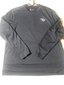 Men's XL Nike NFL Tennessee Titans Dry Fit Long Sleeve Shirt CJ9003 419
