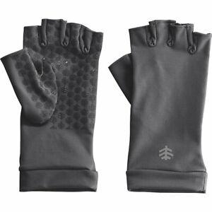 Coolibar UPF 50+ Men's Women's Ouray UV Fingerless Sun Gloves