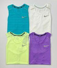 Men's Nike Dri-Fit Standard Fit Breathe Reflective Trim Mesh Running Tank Top