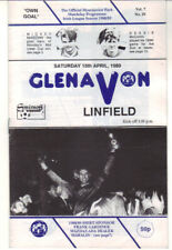 1988/89 Glenavon v Linfield - Irish League - 15th Apr - Vol 7 No 26