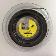 Big Banger Alu Power Rough Brand Quality KELIST 1.25mm 200m Tennis Strings Black