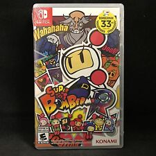 Super bomberman R (Nintendo Switch) BRAND NEW / Region Free