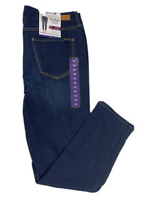 Womens Seven 7 Jeans Size 16 London Wash Stretch Tummy Less High Rise Skinny