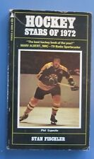 HOCKEY STARS OF 1972 by Stan Fischler PHIL ESPOSITO BOSTO BRUINS