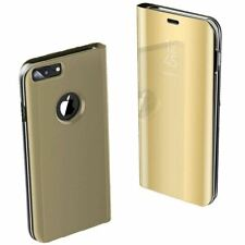 Apple iPhone 6 6s 7 8 X Plus Smart View Mirror Leather Flip Stand Case Cover
