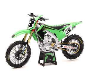 Kawasaki Eli Tomac Racing 1:12 Off Road Dirt Bike Toy christmas gift ama mx