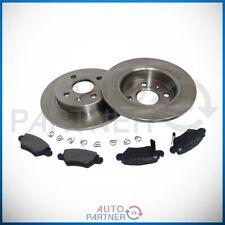 Bremse Bremsscheiben Bremsbeläge Hinterachse hinten für Opel Astra G 4 Loch