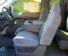 2002-2010 Ford F250-F550 D Cab Front/Back Exact Car Seat Covers,40/20/40 Gray