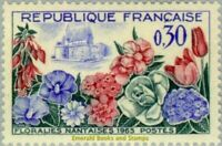 EBS France 1963 Flower Exhibition Nantes - Floralies Nantaises MNH** YT1369