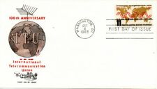 US FDC #1274 Telecommunication, Jackson (9203)