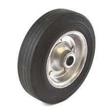 """8"""" (200mm) en acier Pneus Pneu roue jockey remorque alésage 19 mm TE929"""