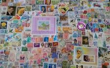 British Commonwealth, Europe, America, Asia 2000 All Different Stamps-S&L