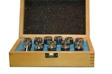 JEU de 16 PINCES ER25 en coffret bois Capacité 1 à 16mm Précision 15µ