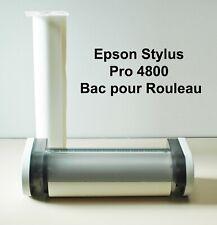 Epson Stylus Pro 4800 Bac pour Rouleau de Papier Complet + 2 Rouleaux de Papier