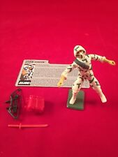 GI JOE ~ 1988 STORM SHADOW  ~ NINJA  ~ 99% Comp & FILE CARD SHARP!!