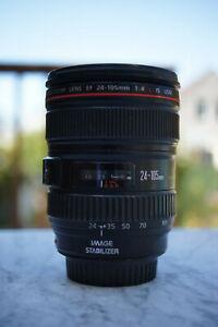 Canon EF 24-105mm f/4 L IS USM Lens Mint Condition *NO RESERVE*