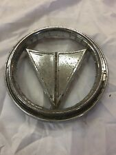 64 Plymouth Valiant Trunk Emblem Chrome Mopar Trim Molding Call Out decor mopar