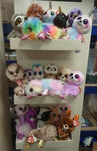 TY  ORIGINAL BEANIE BOO SOFT TOY PLUSH MANY DIFFERENT BOOS TO CHOOSE FROM