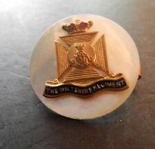 WW2 Wiltshire Regiment Sweetheart Brooch  mop