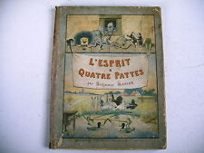 BD imagerie Epinal L' ESPRIT A QUATRE PATTES Benjaman Rabier