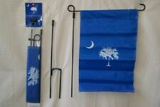 "12x18 Blue South Carolina House Banner Sleeved Garden 12""x18"" Flag w/ Pole"