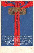 X992) VILLA REALE DI MONZA, 1923 MOSTRA INTERNAZIONALE ARTI DECORATIVE.