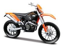 KTM 450EXC , MAISTO MOTO MODELO 1:18 , NUEVO, emb.orig