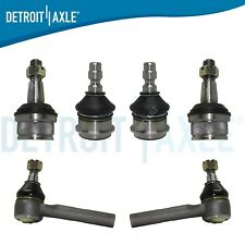 6pc Front Ball Joints Outer Tierod Kit For 1998 2009 2010 2011 Ford Ranger Rwd Fits Ford Ranger