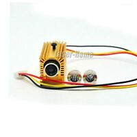 30mW 650nm 660nm Red Dot Line Cross Laser Diode Module Focusable w/TTL +Heatsink