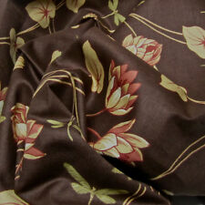 13 yds Schumacher Linen Lotus Pond Drapery Upholstery Fabric from Uk $1,690 val