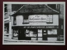 POSTCARD LONDON THE OLD CURIOSITY SHOP 1926
