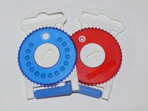 HF3 Gauze Wax Filters by Intricon/for resound and seimans blue and red dials