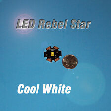 LED STAR - LUXEON REBEL COOL WHITE - MCPCB - 50~90 lm