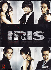 Iris Korean Drama DVD with Good English Subtitle