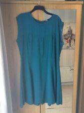 Women's Teal Asos plus size sleeveless skater dress (never worn) size 22