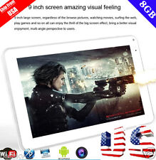 "9"" Inch Tablet PC Android 4.4 KitKat Quad Core 8GB Dual Camera Wi-Fi Bluetooth"