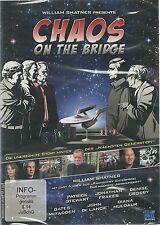 Star Trek William Shatner's Chaos on the Bridge DVD NEU OVP Sealed Deut. Ausg.