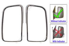 VW Crafter Porta RETROVISORI Chrome Frame involucro COPPIA 2006 in poi