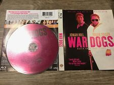 War Dogs (Blu Ray, 2016) Like New - Disc & Cover Art Only No Case Or Tracking