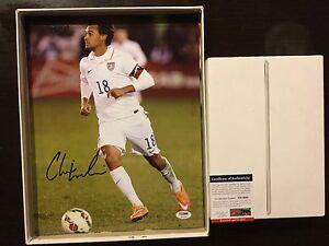 Chris Wondolowski Signed Team USA U.S.A 11x14 Photo PSA DNA COA Autographed b