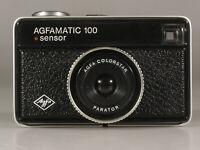 PRL) AGFA AGFAMATIC 100 SENSOR FOTOCAMERA COMPATTA COLORSTAR PARATOR LENS PHOTO