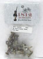 Knuckleduster 1812-US016 US Artillery Crew Mid-War (War of 1812) Cannon Crewmen
