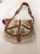 DESIGUAL  Women's handbag bag Peace Vintage Mesh Spain Purse Shoulder Bag urban