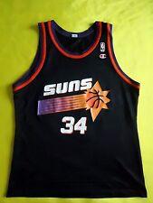 5/5 Vtg Charles Barkley NBA Champion Jersey Phoenix Suns Alternate Black # 34
