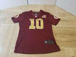 Nike On Field Robert Griffin III 80th Ann. Washington Redskins Jersey Women L