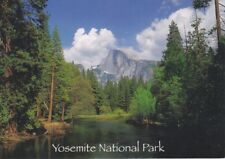 Yosemite National Park ~ Half Dome in Spring ~ Modern Post Card 4x6 ~ New
