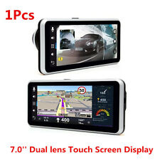 7.0'' HD Car DVR Rear view GPS Navigation Android 4.4 with DVR Camera Recorder