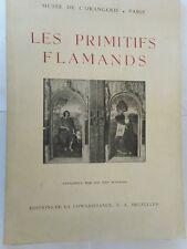 LES PRIMITIFS FLAMANDS - catalogue établi par Léo VAN PUYVELDE
